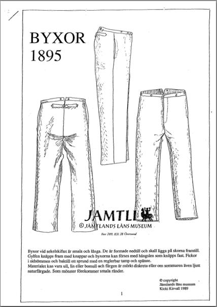 1895 Byxor Jamtli